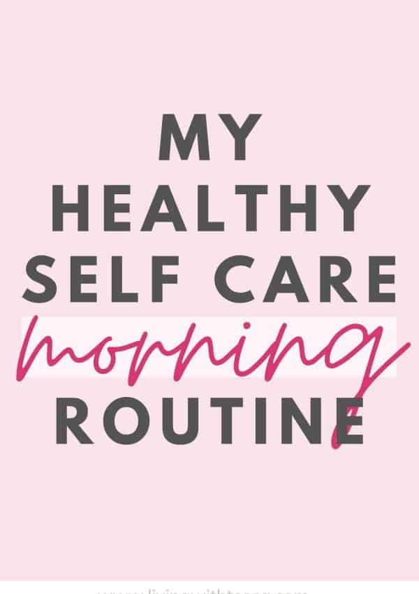My healthy morning routine for Winter