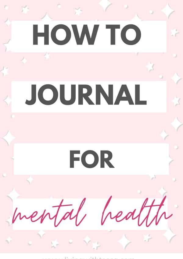 How starting a journal has amazing effects on your mental health