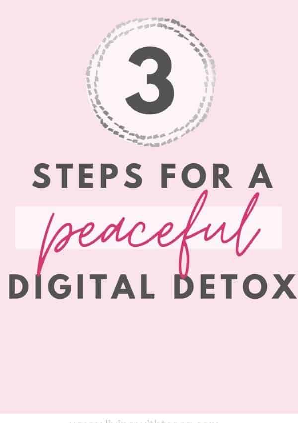 3 steps for a blissful digital detox + 25 things to do instead