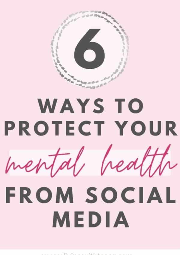 6 ways to protect your mental health from social media