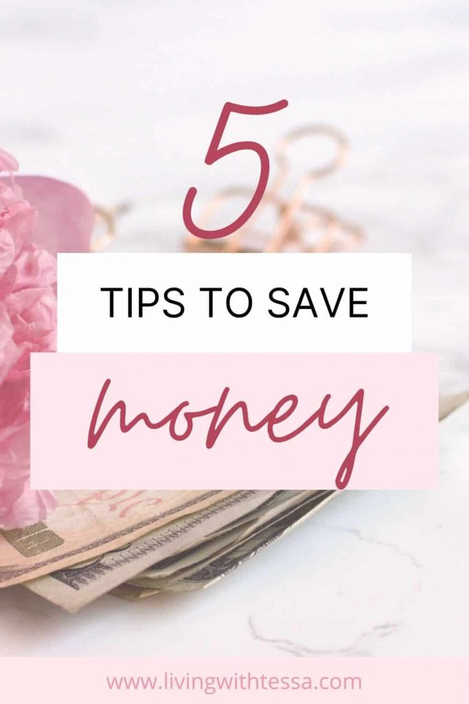 Here are 5 of my tips for money management so you can stop spending and start saving. My best hacks to set a budget, keep your money in your pocket and start getting rich.   #moneymanagement#budgettips#stopspending#startsaving#budgethacks#money
