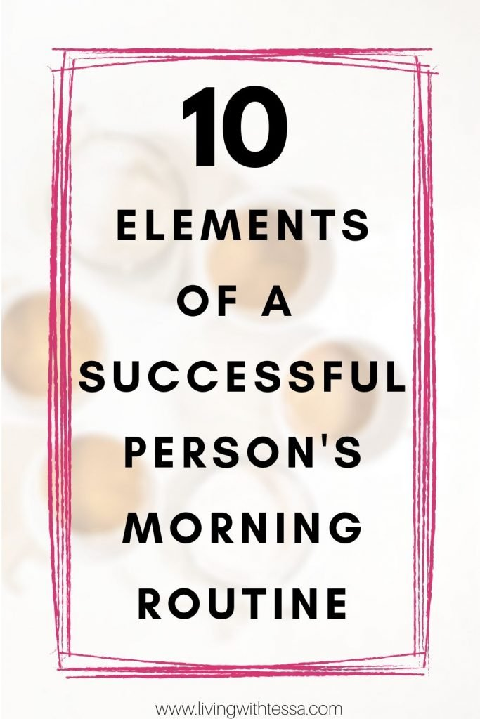 If you want a productive morning routine for work or for school, this one's for you. Here are 10 things to do that successful people have in theirdaily morning routine. It is the best morning routine for success, and you don't even have to get up early! Combine these morning rituals for productivity in whichever way to create a productive daily routine. #productivity | #morningroutine | #productivemorningroutine | successful morning routine | healthy morning routine | girl boss morning routine