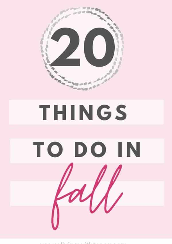 20 easy, fun things to do in fall