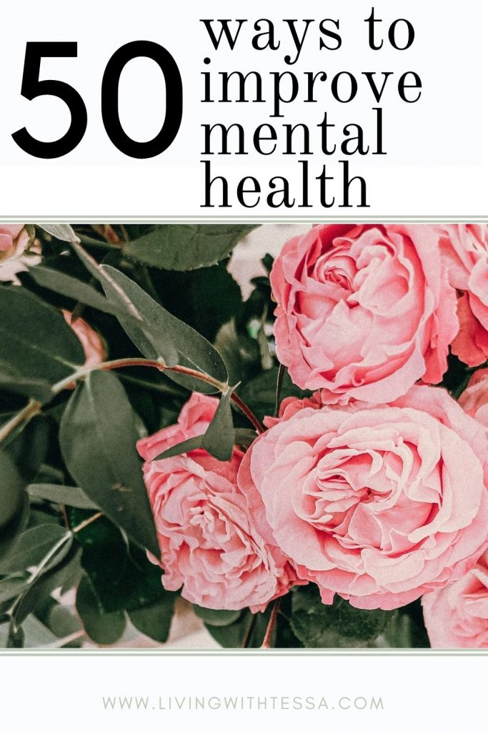 pim image for 50 ways to improve mental health