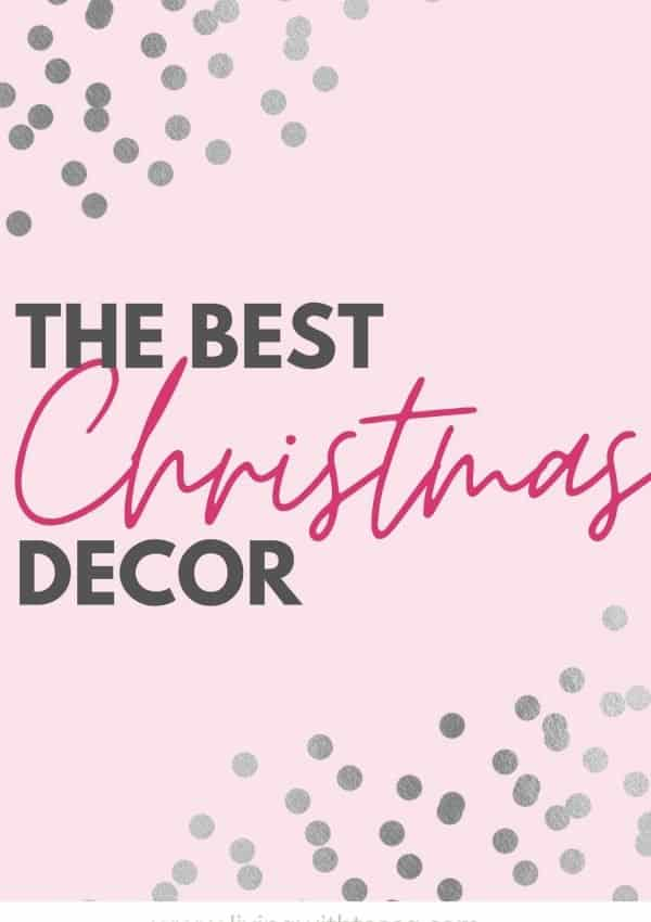 The best christmas decor ideas