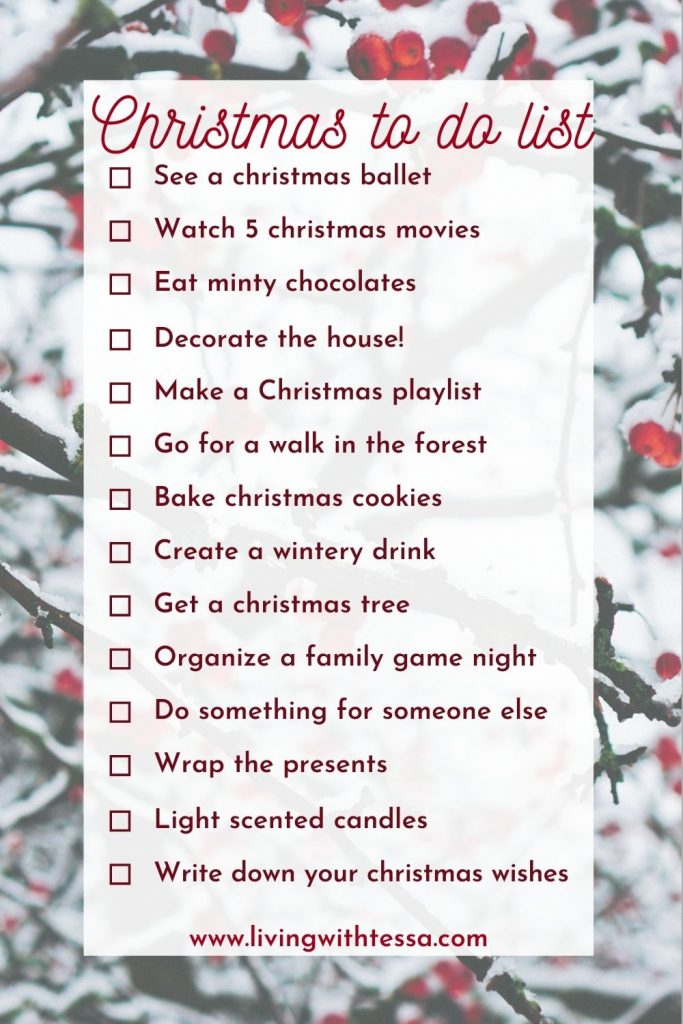 things to do christmas