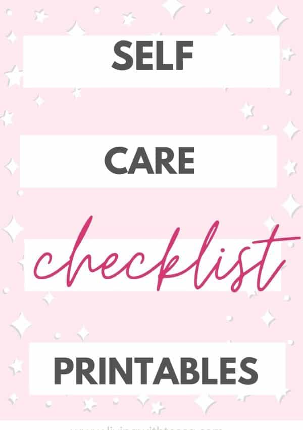 Ultimate self care for beginners checklist: 12 things to track daily