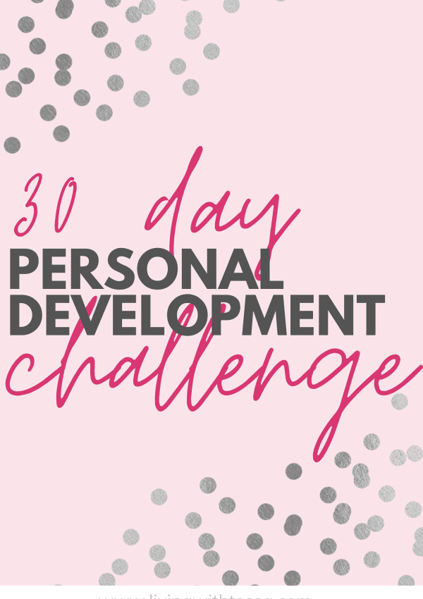 30 day self improvement challenge