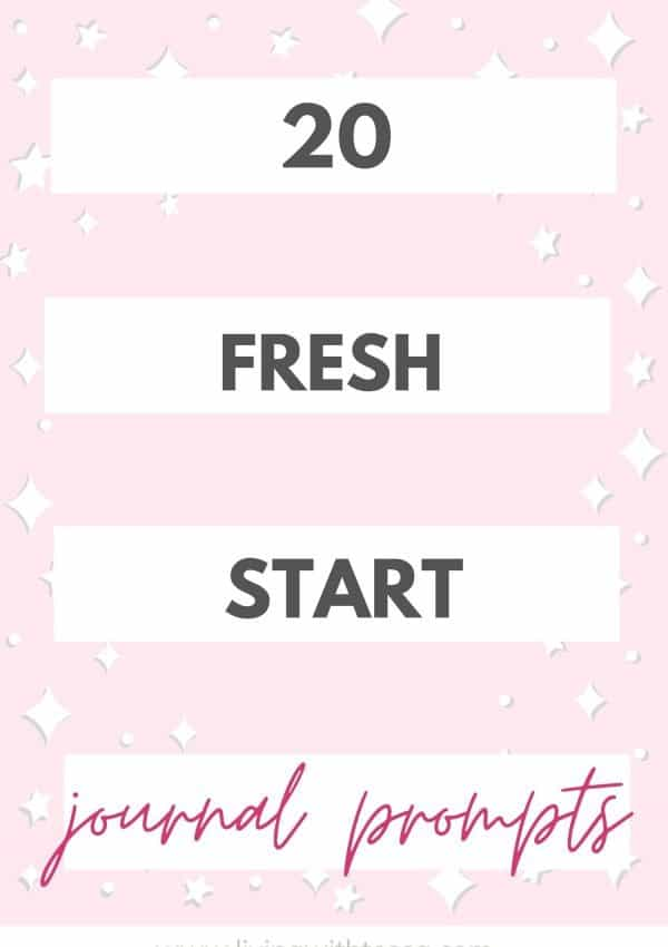 20 refreshing journal prompts for the new year