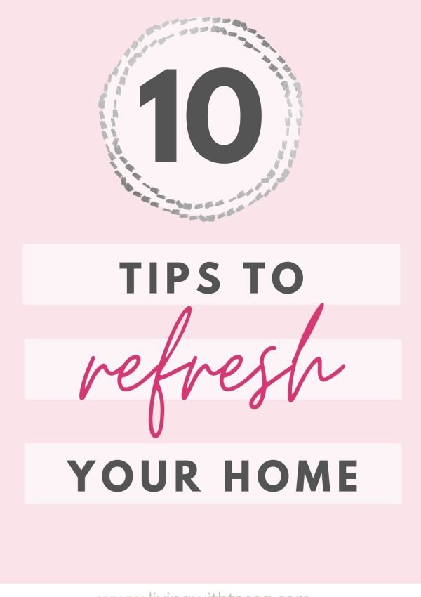 10 Genius ways to reset your home for the new year
