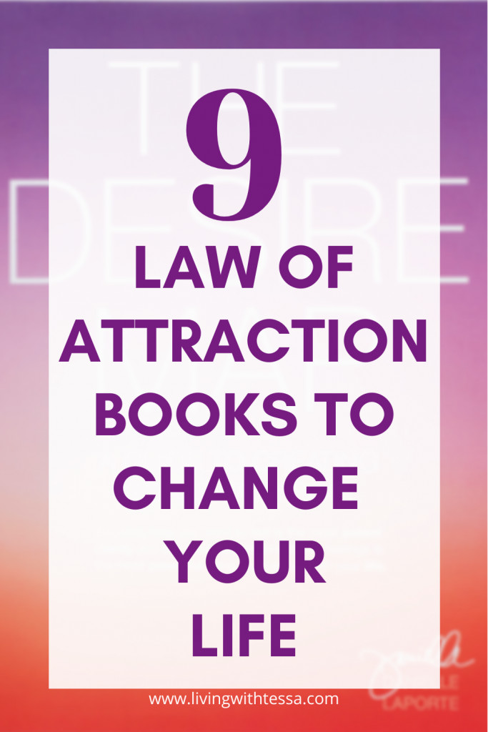 9 books about the law of attraction to change your life.