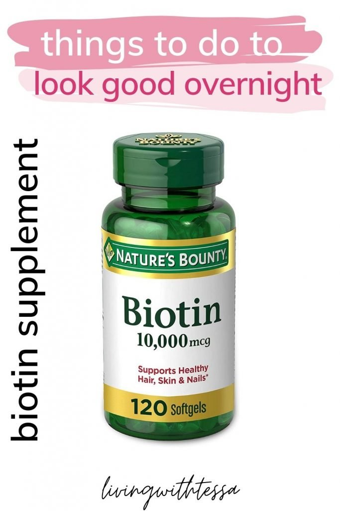 Biotin 10,000 mcg supplement